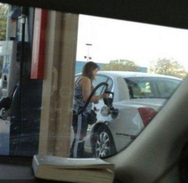 Женщины за рулем, приколы