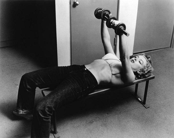 Мэрилин Монро в возрасте 26 лет, 1952