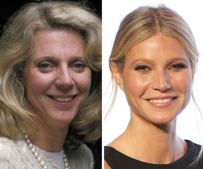 матери знаменитых женщин в том же возрасте