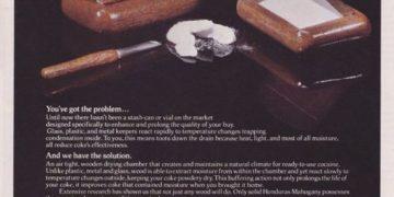 Реклама кокаина