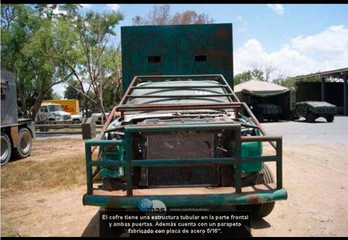 Броневики мексиканских наркокартелей