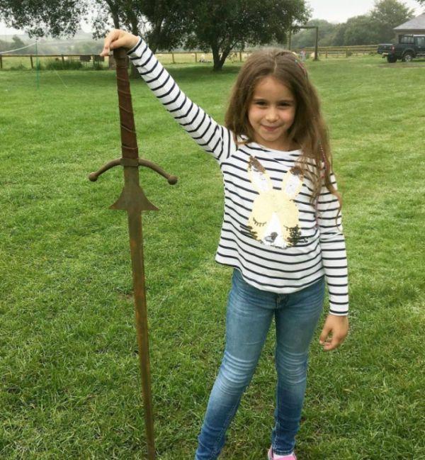меч из легенды о короле Артуре