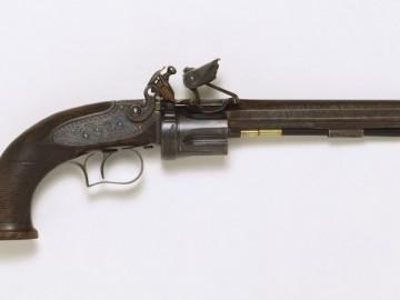 Кремневый револьвер Коллиера