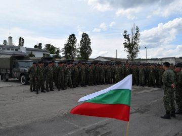 болгарские солдаты