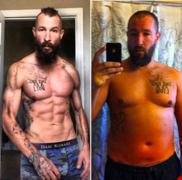Мужчина похудел на 30 кг без диет