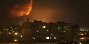 Пожар на складе боеприпасов