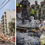 фото последствий землетрясения в Мексике