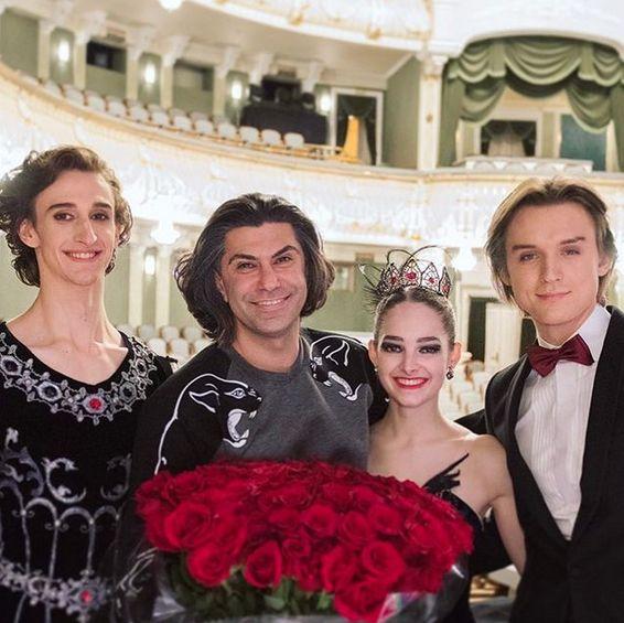 Праправнучка балерины Матильды Кшесинской Элеонора Севенард