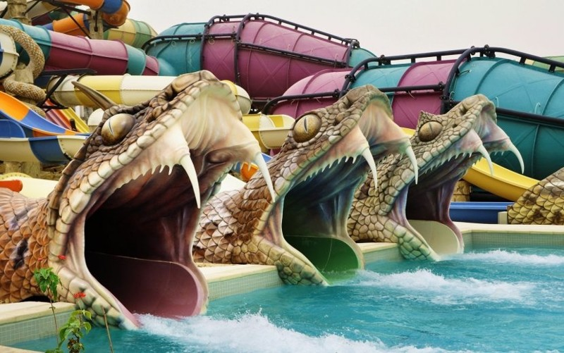 Yas Waterworld, Абу-Даби, ОАЭ