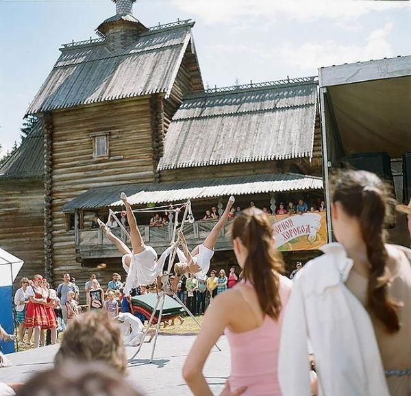 Жители российских деревень
