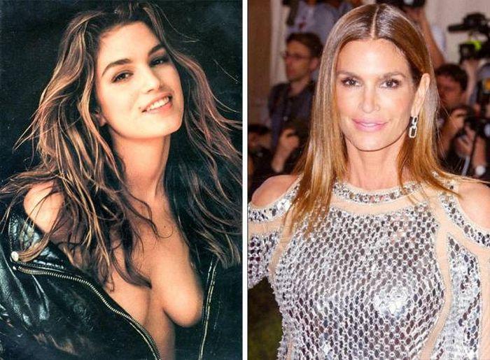 Голливудские знаменитости в 90-х и сейчас
