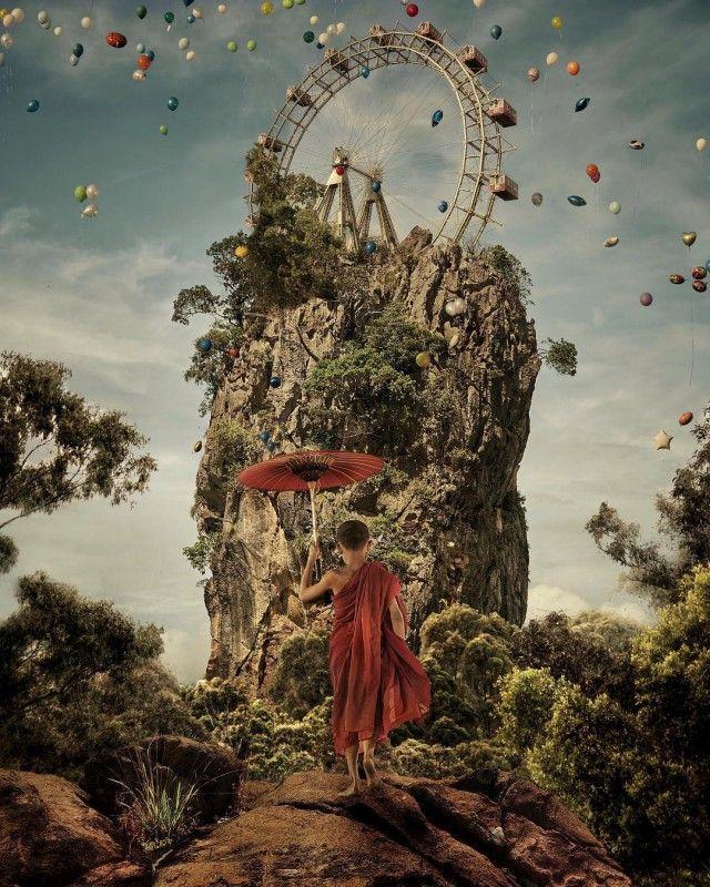 Сказочный мир Марселя ван Льюита