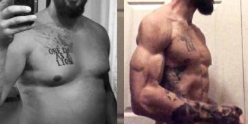 Мужчина похудел на 30 кг