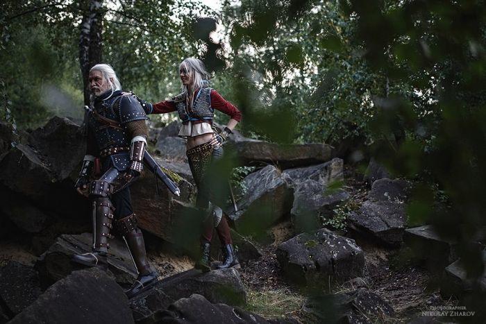 Ведьмак и Цири