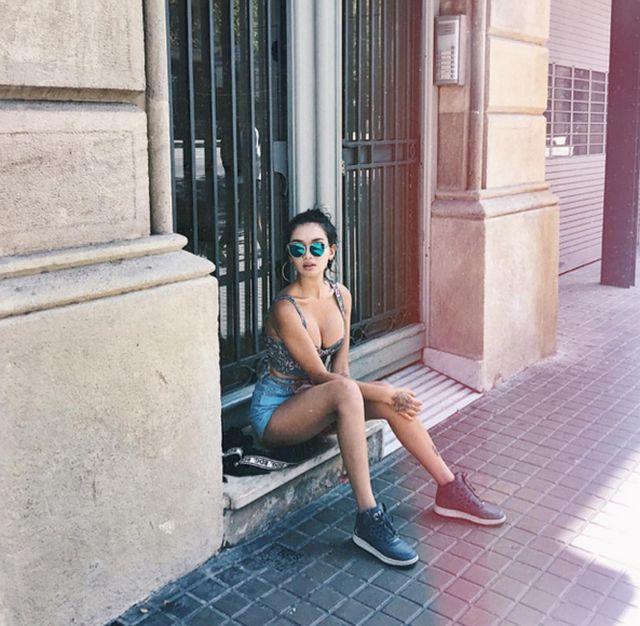 Модная и очень стильная Айжан Байзакова
