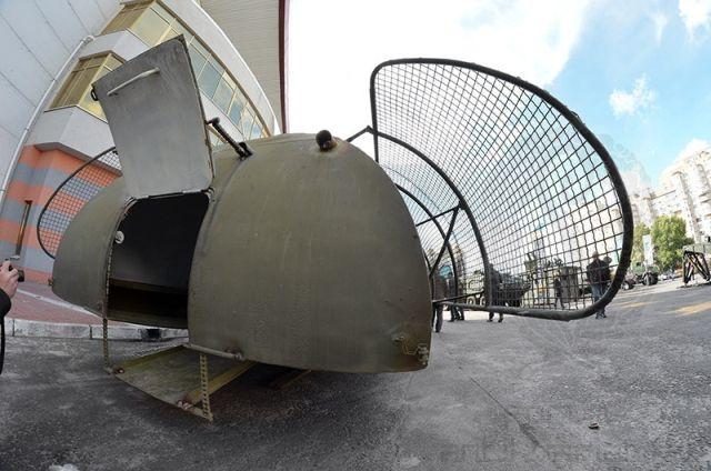 бронемашина на базе трактора Т-150