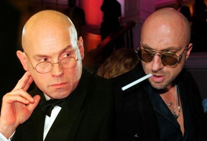 Виктор Сухоруков и Дмитрий Нагиев