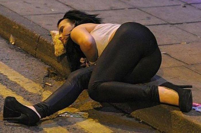 Пьяные люди