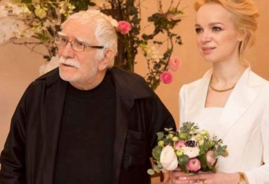 Армен Джигарханян и супруга