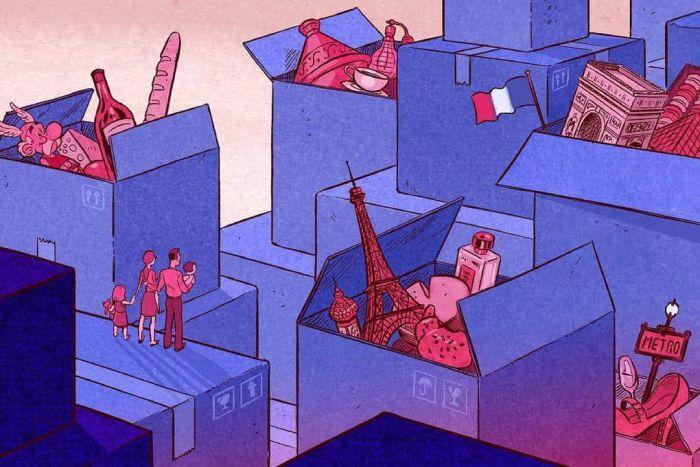 Иллюстрация глобальной проблемы