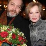 Людмила Гурченко и ее супруг