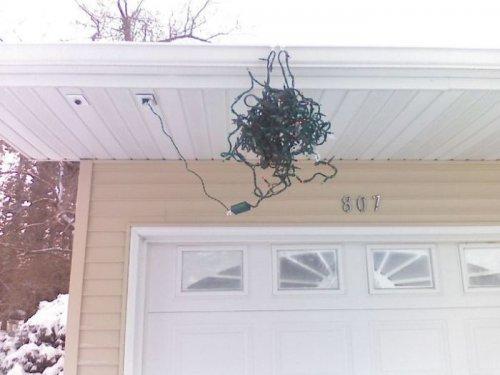 быстро украсить дом к Рождеству