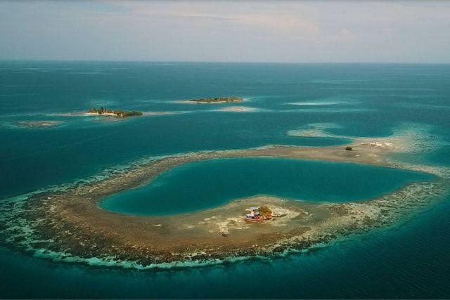 В Карибском море сдается в аренду Птичий остров государства Белиз (8 фото