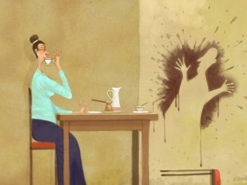 Добрые рисунки питерского художника
