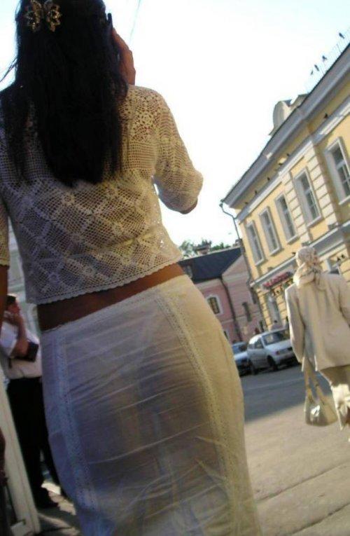 Девушки, которых приятно встретить на улице