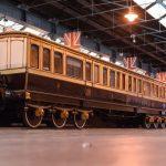 Роскошный поезд королевы Великобритании