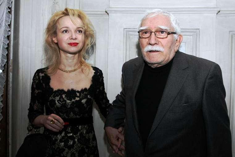 Армен Джигарханян и бывшая жена Цымбалюк-Романовская