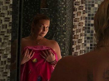 Анастасия Волочкова позирует голой в ванной