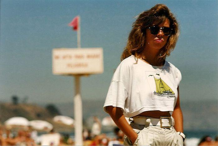 Ретро фото пляжей Бразилии в 80-х годах (20 фото)
