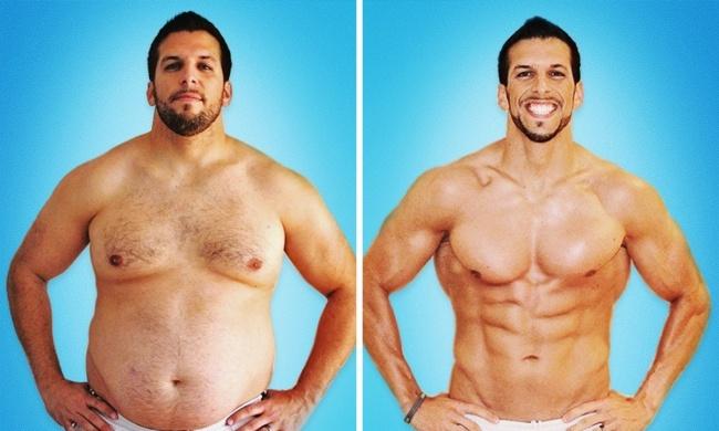 Как похудеть на 32 кг за 6 месяцев. Фото до и после (14 фото)