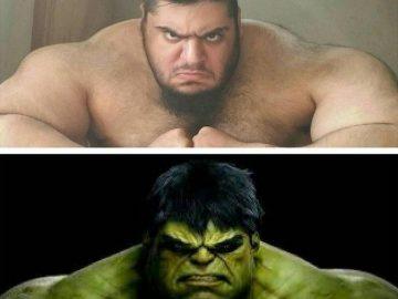 Иранский Халк, весом в 155 кг (10 фото)