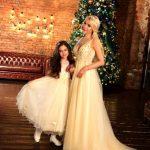 Алена Кравец с дочерью