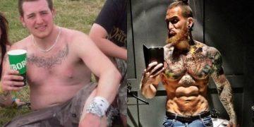Как спортзал меняет парней (12 фото)