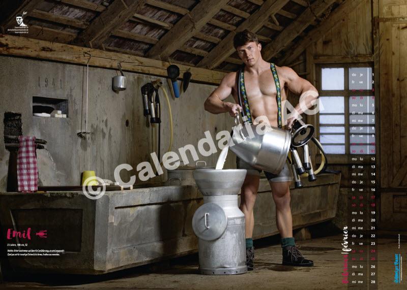 Швейцарские фермеры в мужском календаре 2018 года (13 фото)