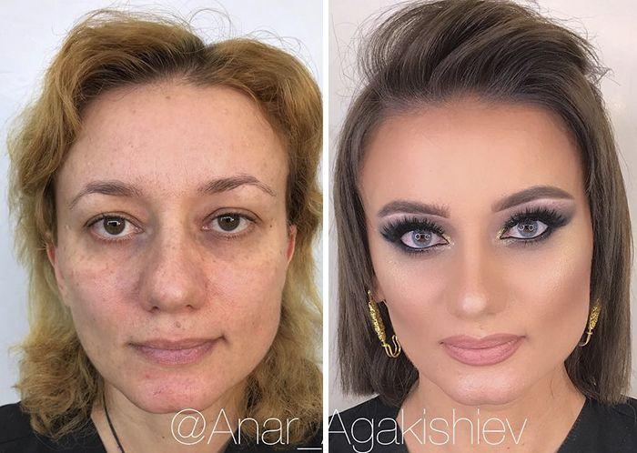 Макияж, который делает женщин моложе своих лет (18 фото)