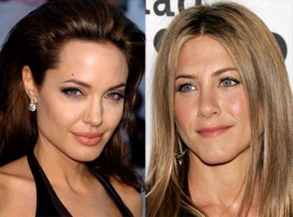 Анджелина Джоли целуется хуже, чем Дженнифер Энистон
