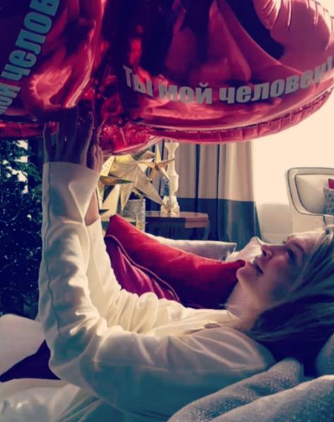 Вере Брежневой подарили необычный подарок на День влюбленных