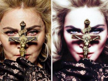 Фотографии знаменитостей до и после обработки в Фотошопе (29 фото)