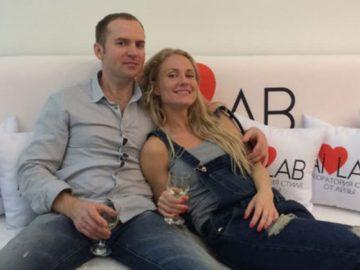 Сергей Жорин с бывшей женой Катей Гордон