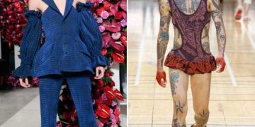 Мужская мода - 2018, рвет шаблоны (17 фото)