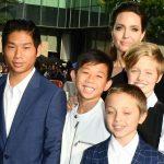 Анджелина Джоли и ее дети