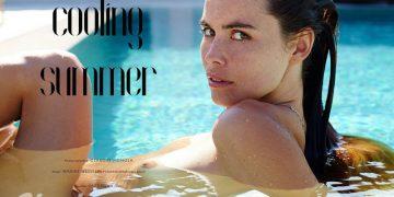 """Марике Весселс в летней фотосессии """"Cooling summer"""" (11 фото)"""
