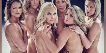 Хоккеистки американской сборной снялись голыми для журнала (7фото+1видео)