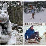 Британцы наслаждаются настоящей зимой (21фото)