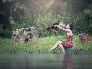Странные и причудливые фотографии (55фото)