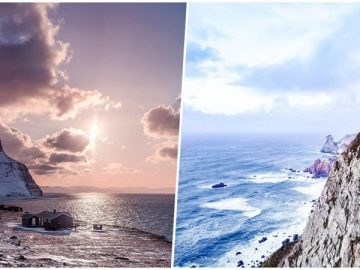 Край света: волшебные пейзажи из разных уголков мира (22фото)